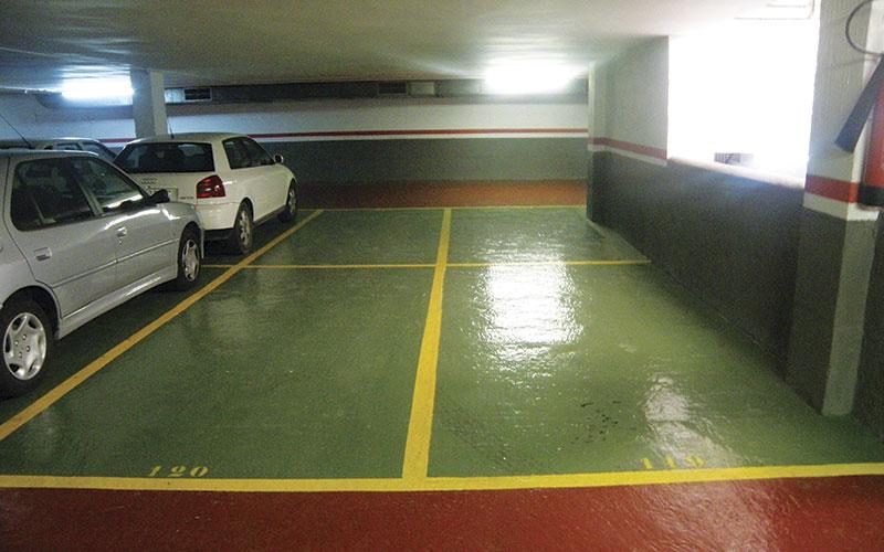 Pintura de pavimento
