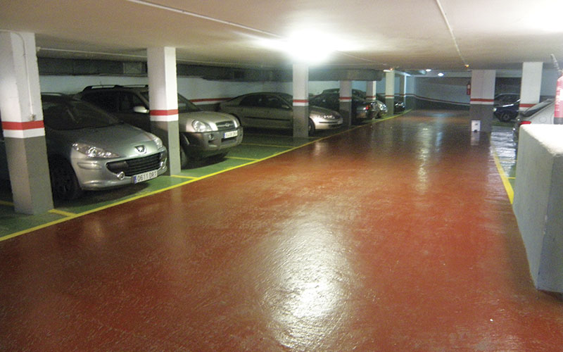 Rehabilitación de parkings
